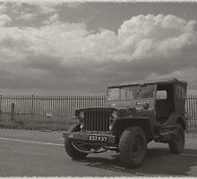 1940's Vintage Jeep by James Stevens
