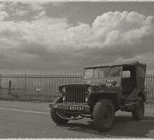 1940's Vintage Jeep by James Stevens