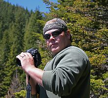ME UP IN THE CASCADE MT. RANGE ( near Blue Lake) by Michael Beers