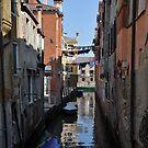 Laundry in Cannaregio by Hilda Rytteke