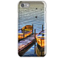 Twin boats iPhone Case/Skin