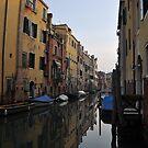 Early Morning, Cannaregio, Venice by Hilda Rytteke
