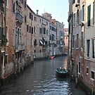 Venetian Canal, Early Morning by Hilda Rytteke