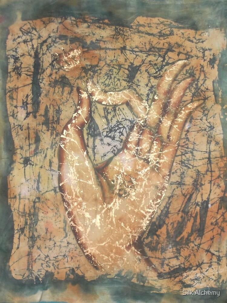 Vitarka mudrā by Silk Alchemy