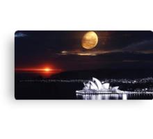 Sydney 3020 New World Order  Canvas Print