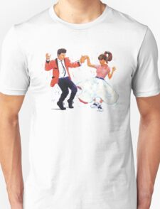 Classic Rock and Roll Jive Dancers T-Shirt