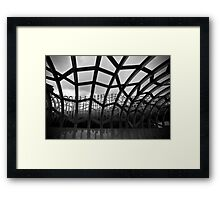 Caught in a web of our own design... Framed Print