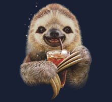 SLOTH & SOFT DRINK Kids Clothes