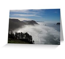 marine layer Greeting Card