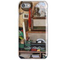 vintage items  at flea market iPhone Case/Skin