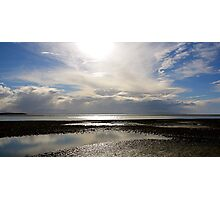 Wet Sand Photographic Print