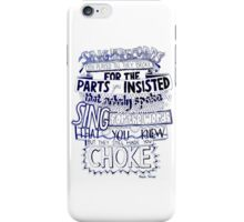 Frank Turner - Pass It Along iPhone Case/Skin