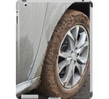 end of the off-road iPad Case/Skin