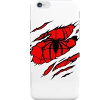 spiderman rip iPhone Case/Skin