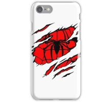 spiderman rip iPhone Case/Skin
