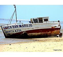 Snack Bar Mozambique Photographic Print