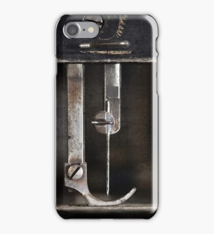 """"""" Old Sewing Machine """" ... #05 of 5 iPhone Case/Skin"""