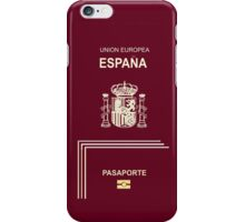 Spanish Passport iPhone Case/Skin