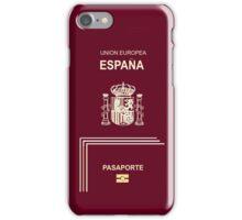 Spanish Passport iPhone Case/Skin