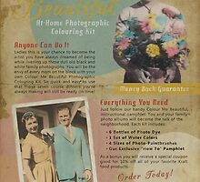 Colour Me Beautiful 1950s Print Ad by Nola Lee Kelsey