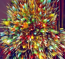 Lighted Christmas Tree (3) - Digitally Altered by SteveOhlsen