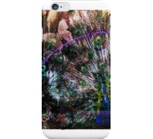 Peacock with Leftovers  iPhone Case/Skin