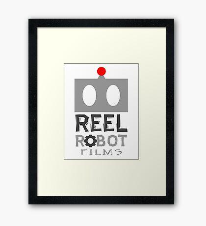 Reel Robot Films color logo Framed Print