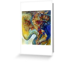 rainbow harpy Greeting Card