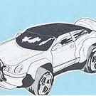 CAR DESIGN (SUV) by chenjema