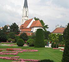 Schombrunn gardens by Kadava