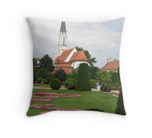 Schombrunn gardens Throw Pillow