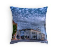 Downtown Shelbyville Tennessee Throw Pillow