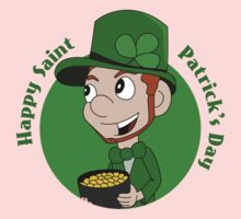 Happy St. Patrick's Day cartoon Kids Clothes
