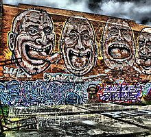 Graffiti HDR by JHP Unique and Beautiful Images