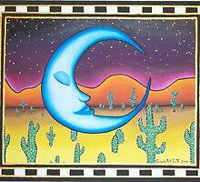 Lunar Meditation by Elizabeth Arlene  Smith