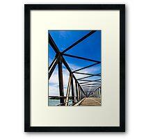 Bridge Niliveli Sri Lanka Framed Print