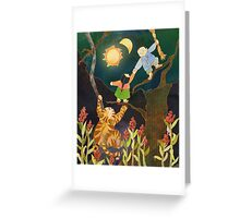 The Sun & Moon: Korean Folk Tale Greeting Card