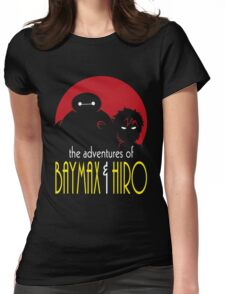 The Adventures of Two Heroes Womens Fitted T-Shirt