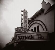 Batman @ the Blue Fox by Diane Peterson