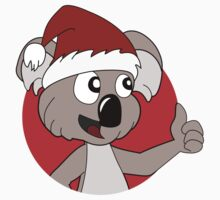 Cute Christmas koala cartoon Kids Clothes