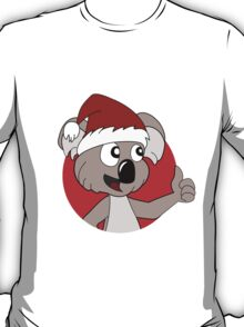 Cute Christmas koala cartoon T-Shirt