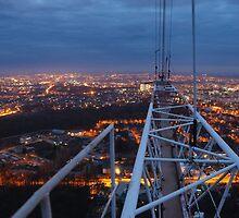 Panorama from Vinnytsya TV tower 4 by fine