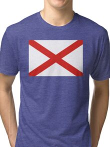 alabama state flag Tri-blend T-Shirt