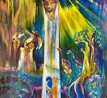 Ascension from Sacred Places by CrismanArt