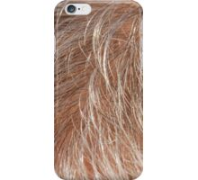 detail of the scalp iPhone Case/Skin