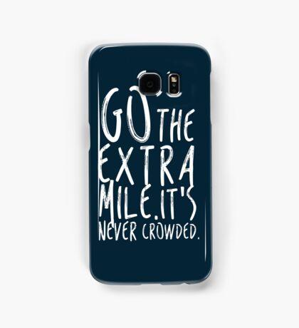 Go the extra mile Samsung Galaxy Case/Skin