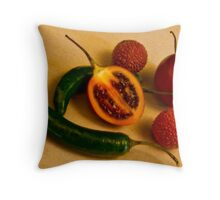 Sweet & Sour Throw Pillow