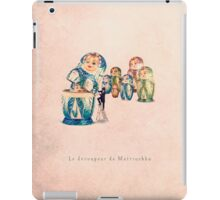 The Matrioshka opener iPad Case/Skin