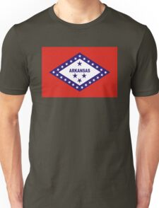 arkansas state flag Unisex T-Shirt