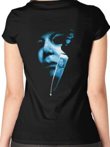 Michael Myers Women's Fitted Scoop T-Shirt